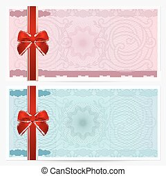 Gift certificate, Voucher, Coupon Bow - Gift certificate,...