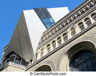 Toronto Royal Ontario Museum 2015 - Part of building of the...