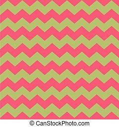 Tile vector pink zig zag pattern - Tile vector pattern with...