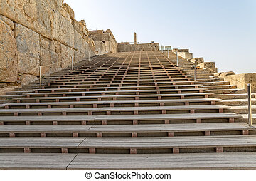 Persepolis entrance stairs - Entrance stairs of the old city...