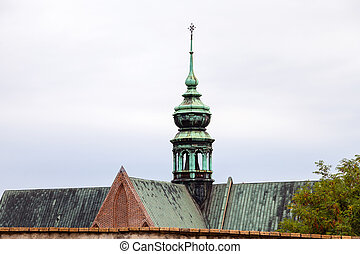 tower of The Augustinian Abbey of St Thomas, Brno - travel...