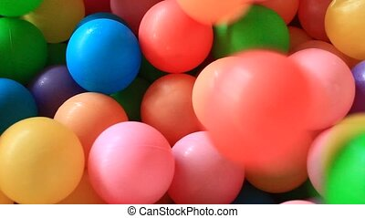 plastic toy ball colorful