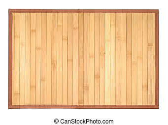 Wooden Table-cloth - Traditional table-cloth isolated with...