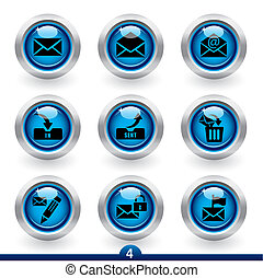Icon series 4 - mail - Icon set from a series in my...