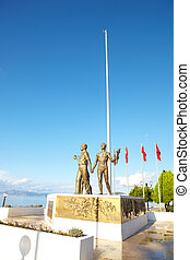 Ataturk Monument - Monument of Ataturk and Youth, Kusadasi,...