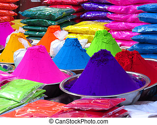 Festive Colors - Rangoli colors for sale on occasion of a...