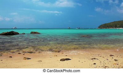 Beautiful Tropical Beach - Beautiful tropical beach of Ko...