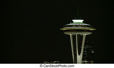 Top of Seattle\'s Space Needle (1 of 3)
