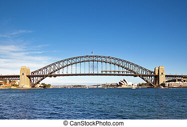 Harbour Bridge - A photography of the Harbour Bridge in...