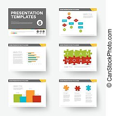 Vector Template for presentation slides 6