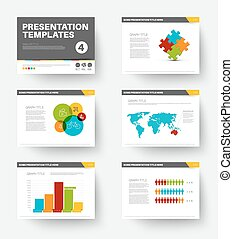 Vector Template for presentation slides 4
