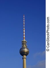 Fernsehturm Television Tower, Berlin - The landmark...