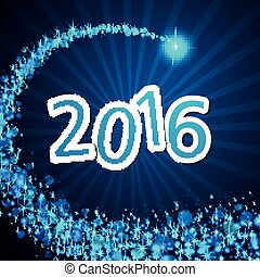 Vector New Year Text Design