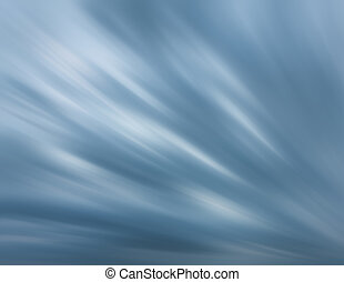 Dramatic sky with blurred clouds - Defocused natural sky...