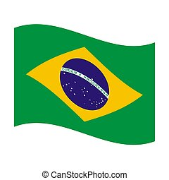 flag of brazil - Illustration of the national flag of brazil...