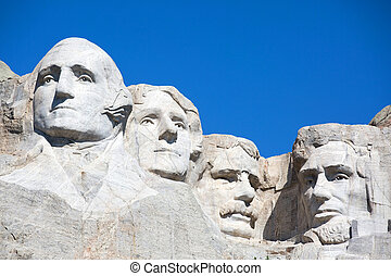 Mt. Rushmore National Memorial is located in southwestern...