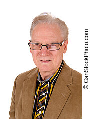 Portrait of a middle age man. - A portrait image of a...