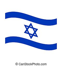 flag of israel - Illustration of the national flag of israel...