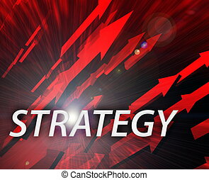 Strategy management success - Strategy illustration,...