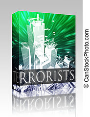 Terrorists terrorism box package - Software package box...