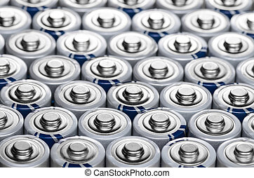 Batteries - Composition with alkaline batteries