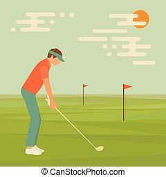 golf sport club,