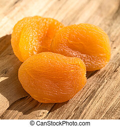 Dried Apricots - Dried apricots, a healthy snack containing...