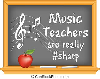 Music Teachers are really Sharp - Music teachers are really...