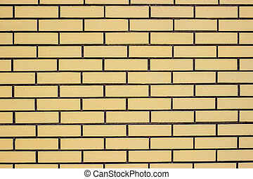 Yellow brick wall Can be used as background