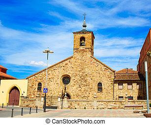 San Bartolome church Astorga Saint James Way - San Bartolome...