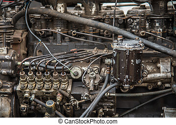 Repair of internal combustion engine