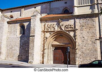 Merced church in Burgos at Castilla Leon Spain - Merced...