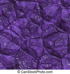 Crystalline mineral facets texture - Crystalline mineral and...