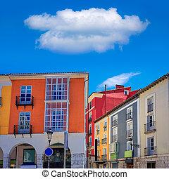 Burgos Street Santander arcades Castilla Spain - Santander...