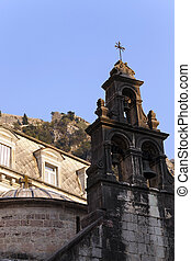 Church of St Luke Kotor - part of the church of St Luke...