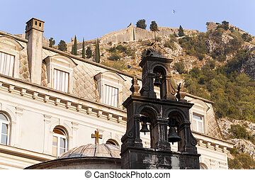 Church of St. Luke Kotor - part of the Orthodox and the...