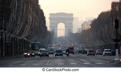 Champs Elyse, Paris - View from Place de la Concorde
