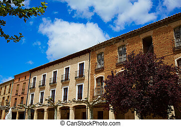 Castrojeriz in the way of Saint James at Castilla -...