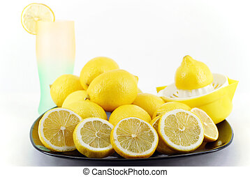 lemon and lemonade