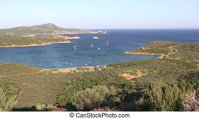 Coastline - View from Sardinia, Italy