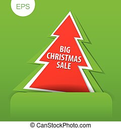 big christmas sale tree