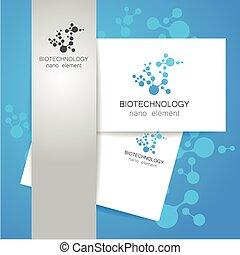 biotechnology logo - Biotechnology Vector logo template