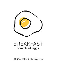breakfast scrambled eggs - Breakfast - fried or scrambled...