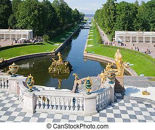 Fountains of Petergof