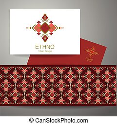 ethno tribal design - Ethno - corporate identity Template...