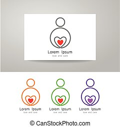 love care sign identity