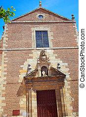 Leon Santa Maria la real church at Castilla Spain