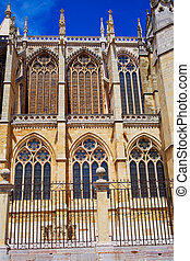 Cathedral of Leon in Castilla at Spain - Cathedral of Leon...