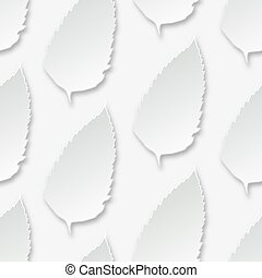 Seamless background with leaf of paper