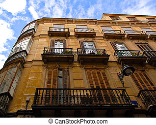 Classic Architecture - Spanish Building - Example of classic...